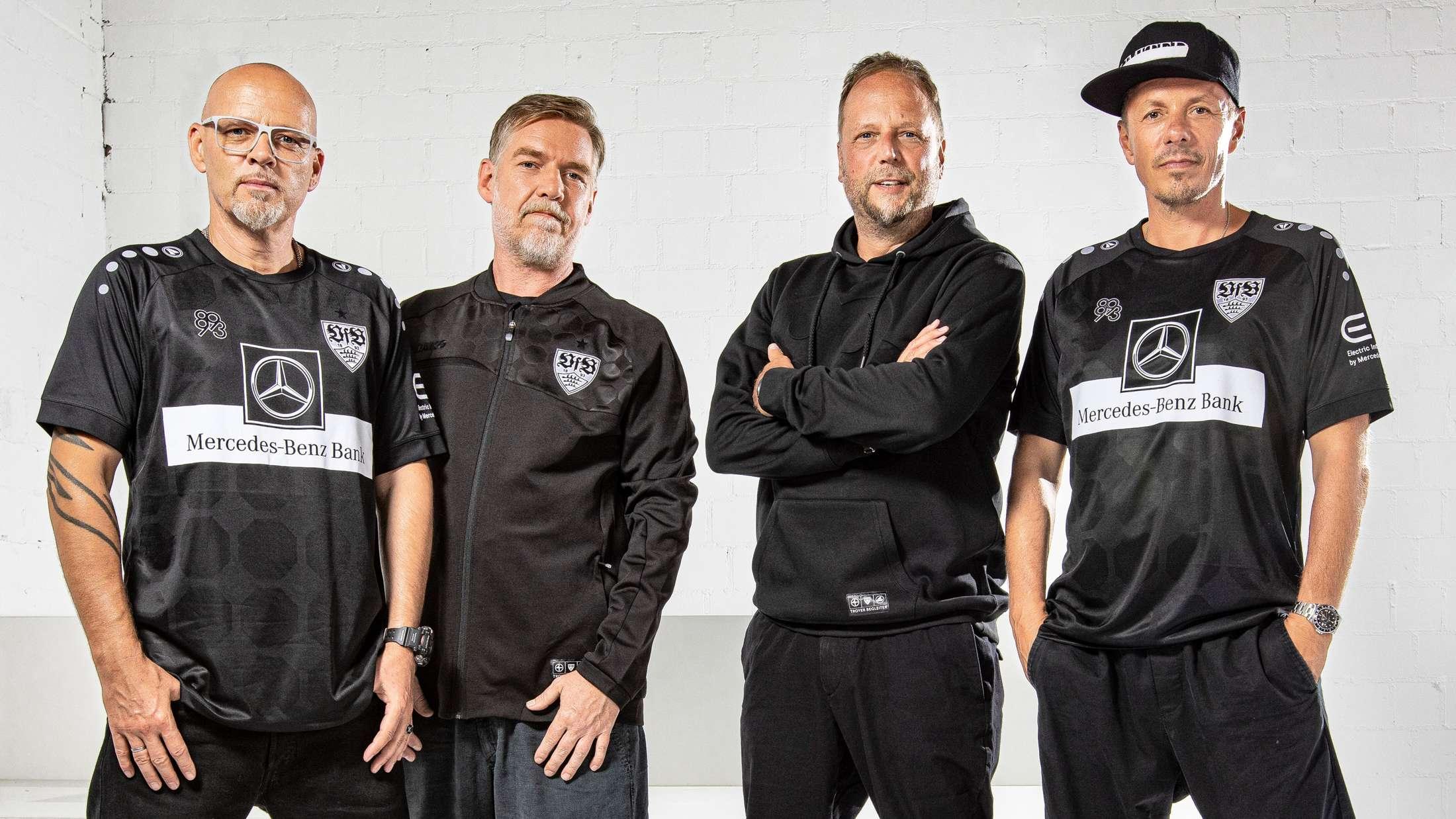 VfB Stuttgart Trikot Die Fantastischen Vier