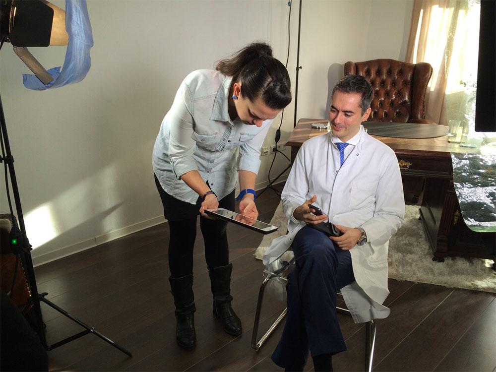 Dr. Sinis RTL PR Manuela Mehnert