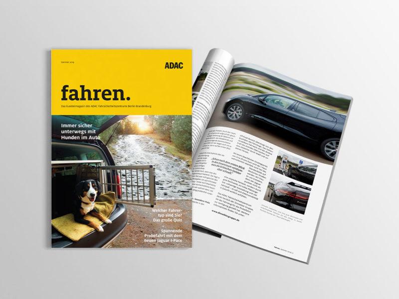 Content Marketing von mehnert / paris ADAC FSZ fahren